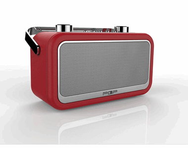 Bild POP Vintage Bluetooth DAB+ Radio, BT